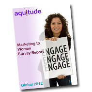 Aquitude Publishes 'Marketing to Women' Survey Report