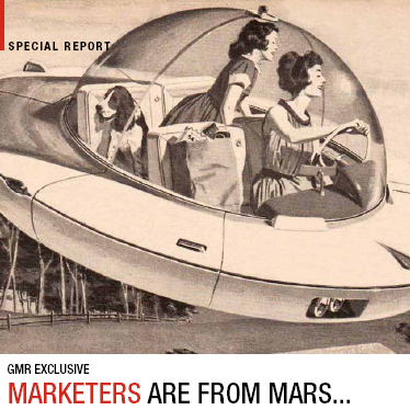 Marketers Are From Mars – Article For GMR